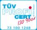 OFS GmbH ist ist durch den TÜV nach dem Qualitäzsmanagementsystem ISO 9001 zertifiziert.